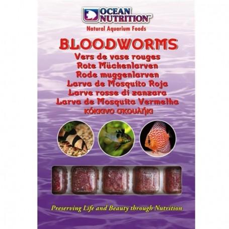 Larva de mosquito roja con spirulina y garlic 100 Gr