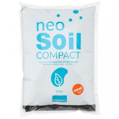 Sustrato aquario soil para gambas 3L