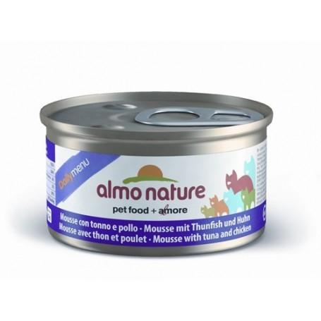 ALMO NATURE MOUSSE ATÚN Y POLLO 85 gr